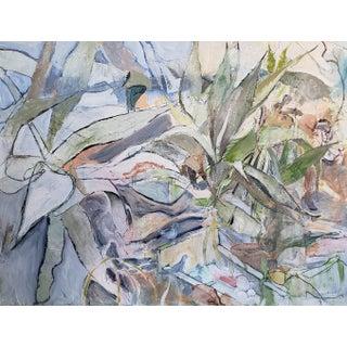 """Neil Brooks """"Bird Bath"""" Landscape Painting For Sale"""