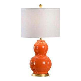 Burke Orange Gourd Lamp For Sale