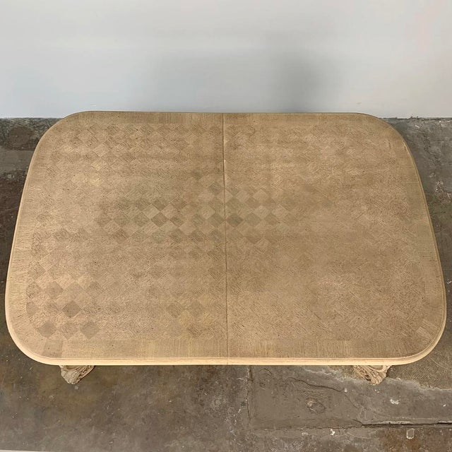 Antique Louis XIV Stripped Parquet Coffee Table For Sale - Image 12 of 13