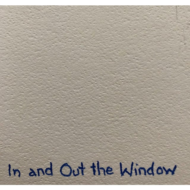 1970s In and Out the Window Modern Collage by Dalley For Sale - Image 5 of 6