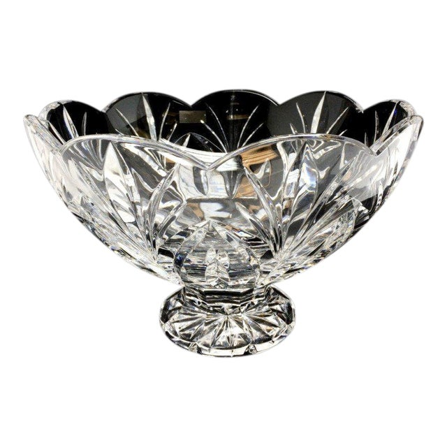 Crystal Bowl Marquis by Waterford Crystal Canterbury Pattern Bowl For Sale