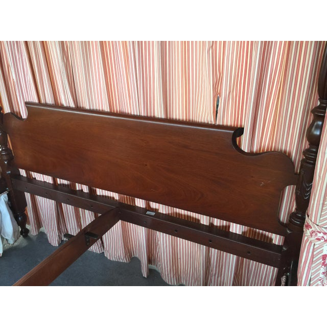 Leonard Leonard's Four Poster Bed King Size For Sale - Image 4 of 12
