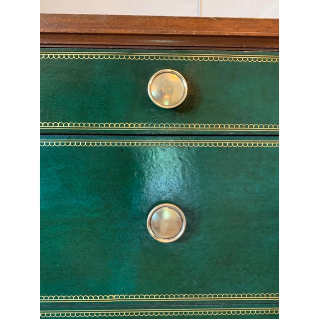 Animal Skin Mid-Century Parzinger Chests- A Pair For Sale - Image 7 of 13
