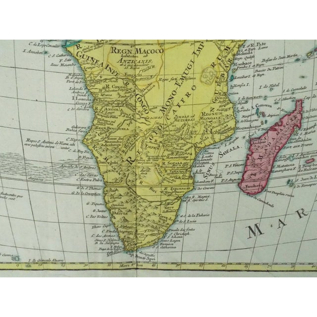 1778 Africa Map by Lotter For Sale - Image 4 of 10