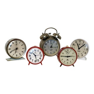 Vintage Clock Collection - Set of 5