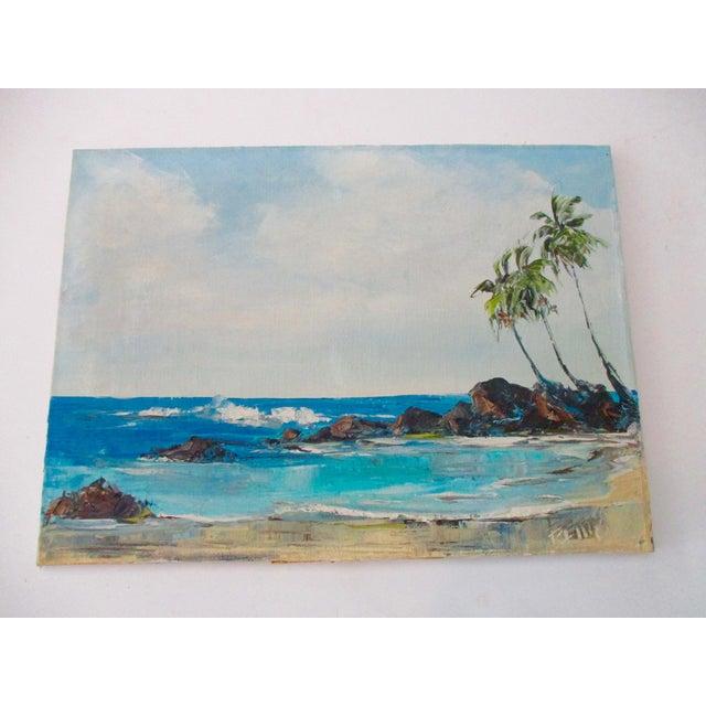 California Plein Air Seascape Painting - Image 2 of 9