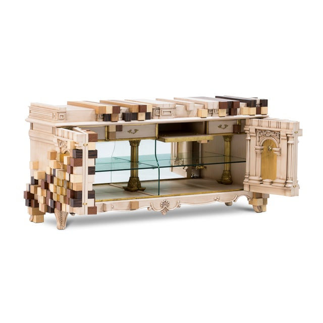 Piccadilly Sideboard, another eternal present for you from Boca do Lobo, is an exclusive design piece that combines the...