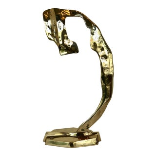 Bronze Sculpture by David Marshall For Sale