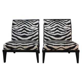 Holly Hunt Slipper Chairs - Pair