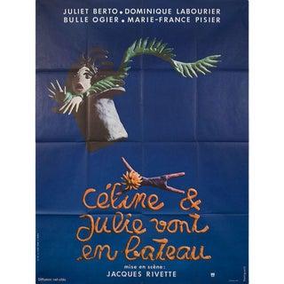 Celine and Julie Go Boating 1974 French Grande Film Poster For Sale