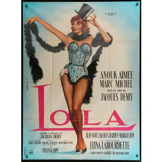 "French 1961 Jacques Demy's ""Lola"" Poster For Sale"