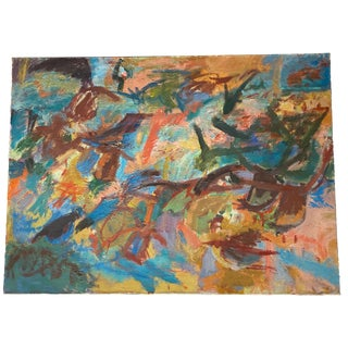 Morris Schulman Abstract Painting For Sale
