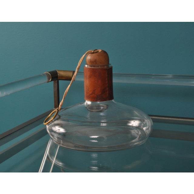 Mid-Century Modern Carl Aubock Wine Decanter For Sale - Image 3 of 7
