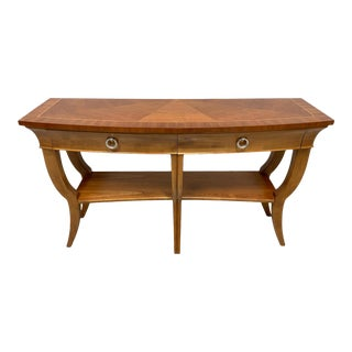 Hekman Cherry Contemporary Buffet / Console Table For Sale