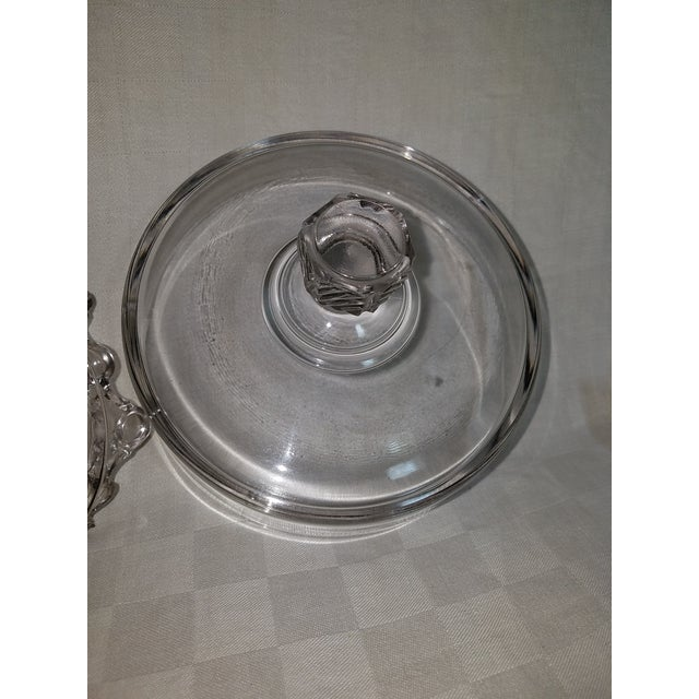 Flint Glass Biscuit Compote , 19th Century For Sale In Baltimore - Image 6 of 6
