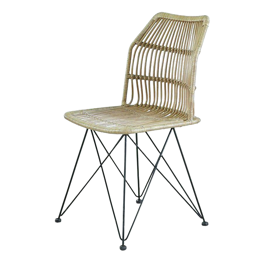 Louis Rattan Dining Chair From Indonesia Chairish