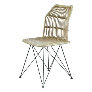 Louis Rattan Dining Chair From Indonesia For Sale