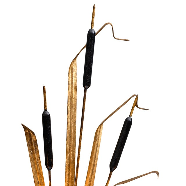 Vintage French Sheaf of Wheat Sconces by Maison Baguès For Sale - Image 9 of 10