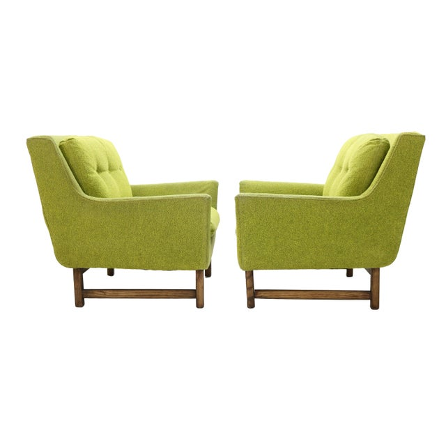 Danish Selig Vista Lounge Chairs Attributed to Dan Johnson - a Pair For Sale - Image 13 of 13