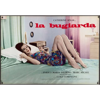 """La Bugiarda"" 1965 Italian film poster For Sale"