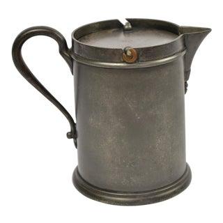 Rustic Derby Silver Co. Creamer
