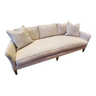 Robin Bruce Sansbury Ivory Sofa For Sale