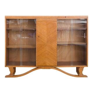 20th Century Art Deco Oak Cabinet For Sale