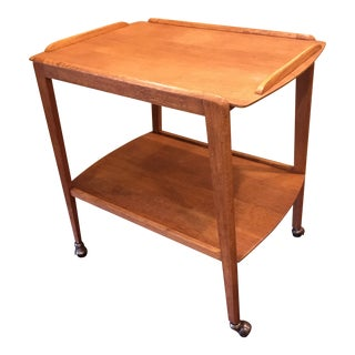 1960s Teak Bar Cart by Remploy For Sale