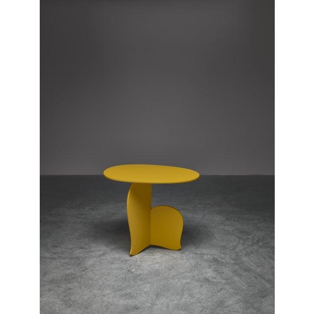 "Asian Hozan Zangana, Sidetable ""Nane Tiri"", Customizable For Sale - Image 3 of 3"