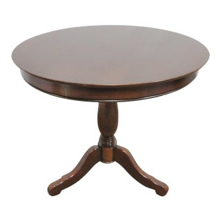 Grange French Cherry Pedestal Table For Sale