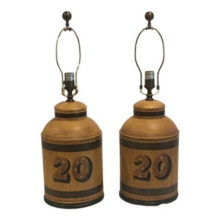 Vintage Visual Comfort Table Lamps - a Pair For Sale