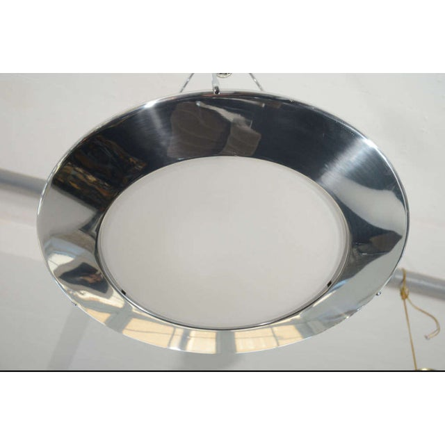 Late 1980s Flos Mira S Silver Ceiling Light - Image 2 of 2