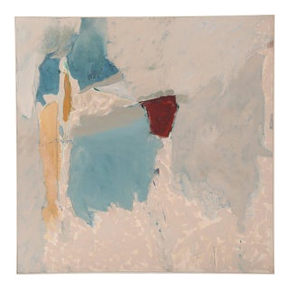 Fabulous Large-Scale Modernist Painting by Carol Collins For Sale