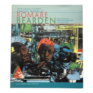 From Process to Print Graphic Works by Romare Bearden 2009 For Sale