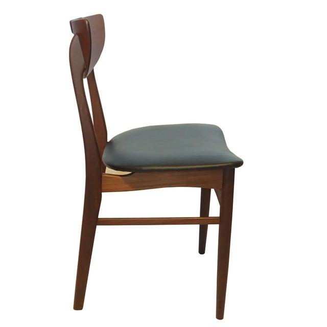 Mid-Century Modern Teak Dining Chairs - Set of 6 - Image 4 of 6