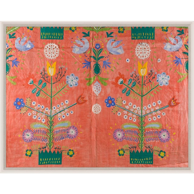 From the proprietary archives of legendary textile artist, engraver and painter Paule Marrot (1902-1987) comes this...