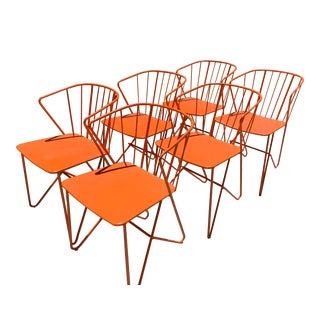 Fermob Flower Patio Chairs For Sale