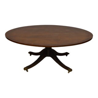 Kindel Oxford Mahogany Duncan Phyfe Coffee Table