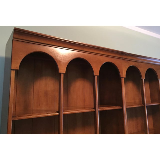 Early American Bookshelves With Storage Cabinets - Set of 3 - Image 3 of 7