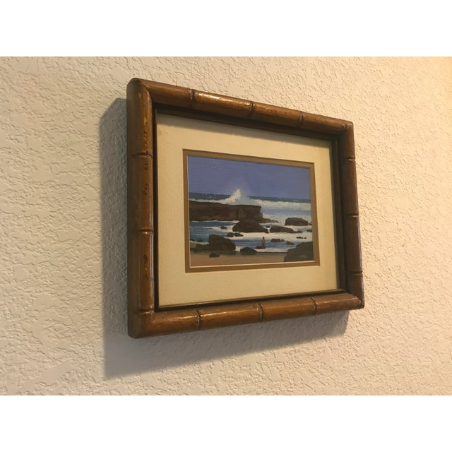 Signed Patrick Doell The North Shore Painting For Sale - Image 4 of 5