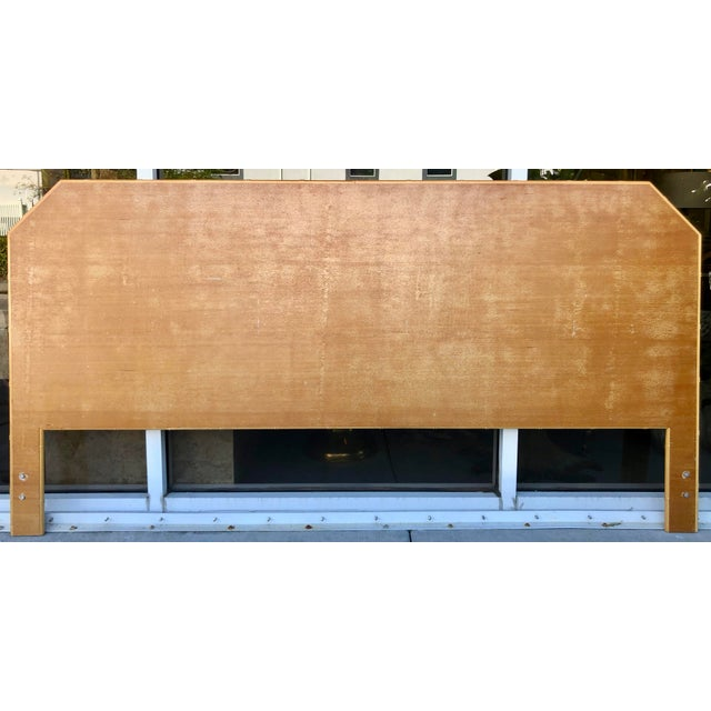 Bamboo/Rattan King Size Headboard For Sale - Image 4 of 8