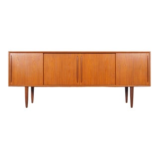 Danish Modern Teak Credenza by Svend A. Larsen For Sale