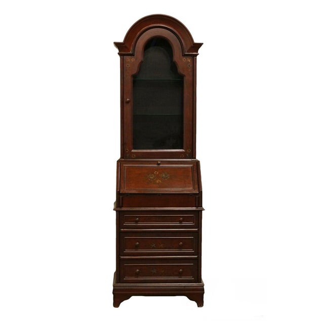 20th Century Traditional Hooker Furniture Secretary Desk For Sale - Image 13 of 13