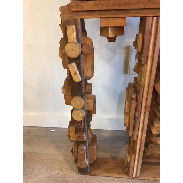 1950s Wood Sculpture by George J. Marinko For Sale - Image 5 of 7