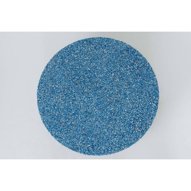 Not Yet Made - Made To Order Hand Made Crushed Lapis Lazuli Coffee Table, by Samuel Amoia For Sale - Image 5 of 7
