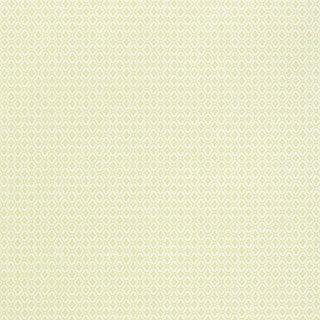 Schumacher Prescott Diamond Wallpaper in Pear For Sale