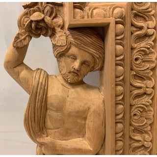 Monumental Neo-Classical Style Carved Mirror Preview