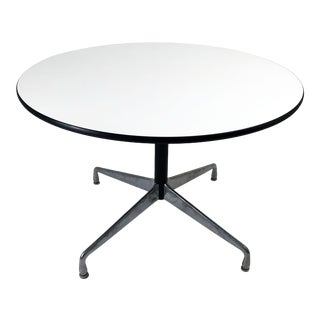 Charles and Ray Eames for Herman Miller Round Segmented Table For Sale