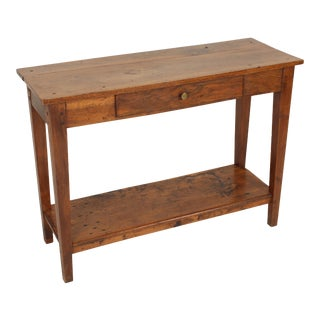 Antique Directoire Style Console Table For Sale