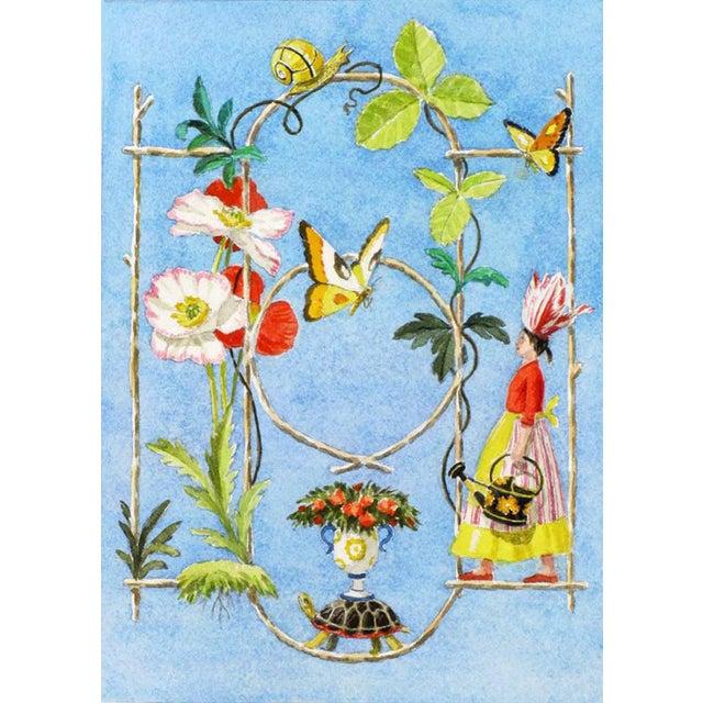 """Rustic Garden Fantasy"" Giclée Print - Image 3 of 3"